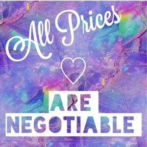 !ALL SALES are negotiable <3